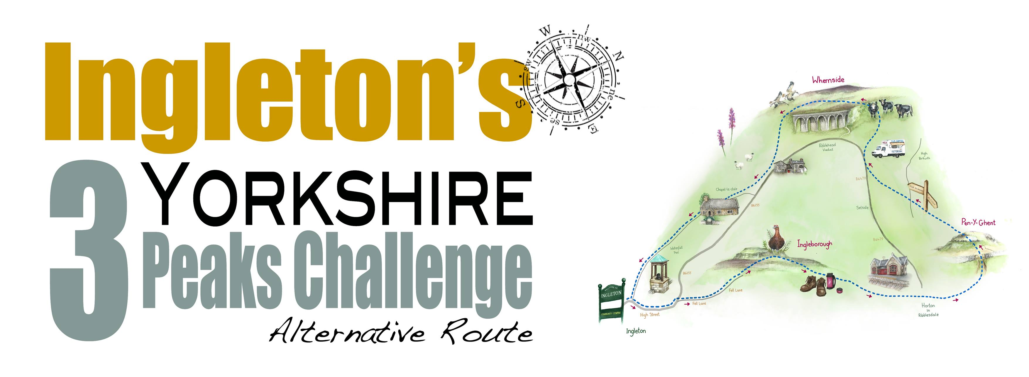 Ingleton Three Peaks Challenge